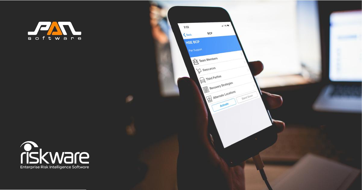 RiskWare Business Continuity Module App