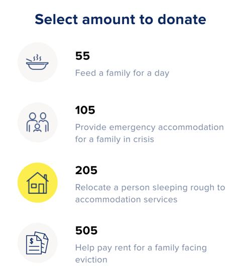 Donate to help australians