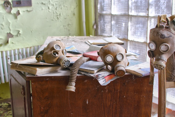 chernobyl gas masks